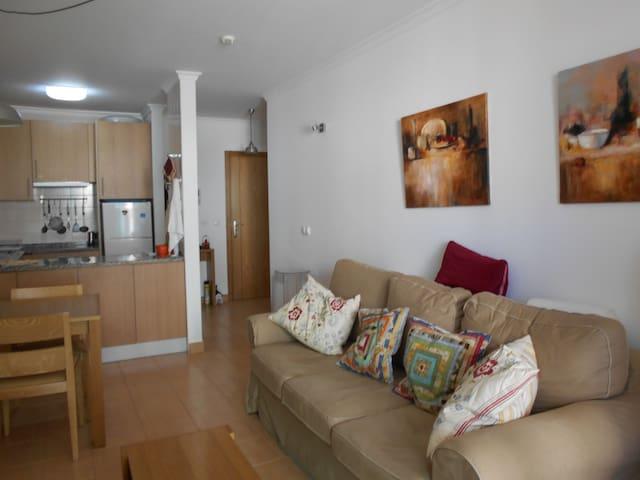 Apartamento 55 m2 en 1ª linea de playa. Montegordo - Monte Gordo - Apartament