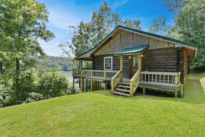 Lakeside Log Cabin #3 at Carters Lake