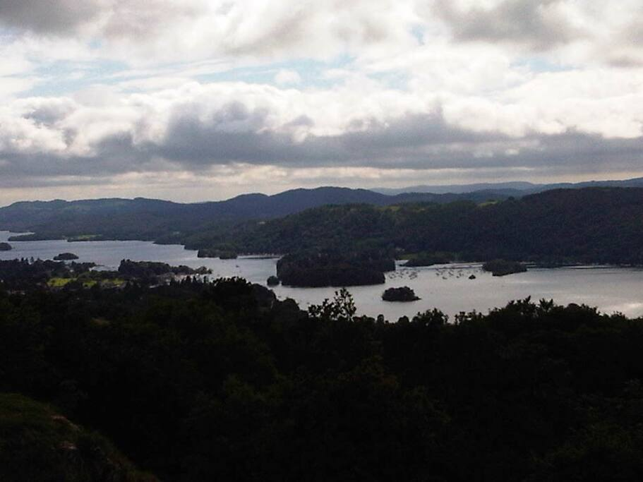 lake windermere from orrest head...15 minutes walk