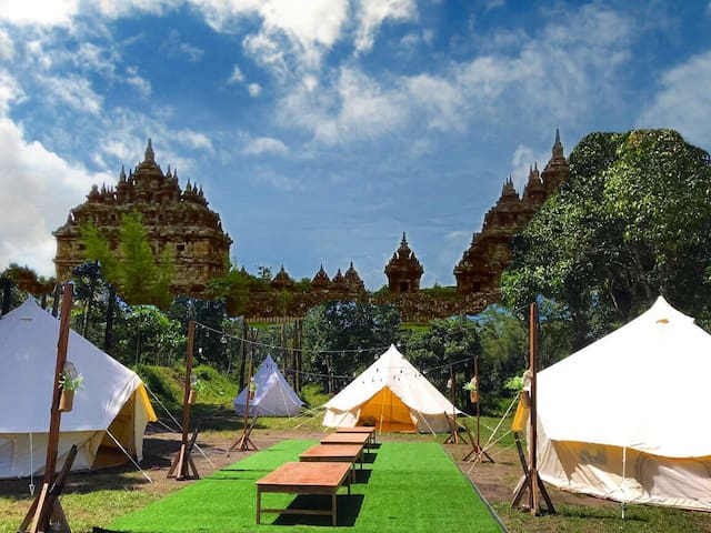 Indekostour Glamping at Temple Central Java