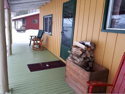 Private all-season pine cabin on the Miramichi- 10