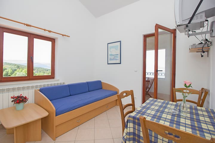 Apartment with gorgeous view for 6 persons - Labin - Lägenhet