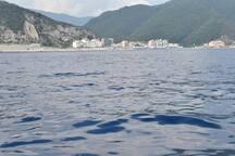 Deiva Marina dal mare