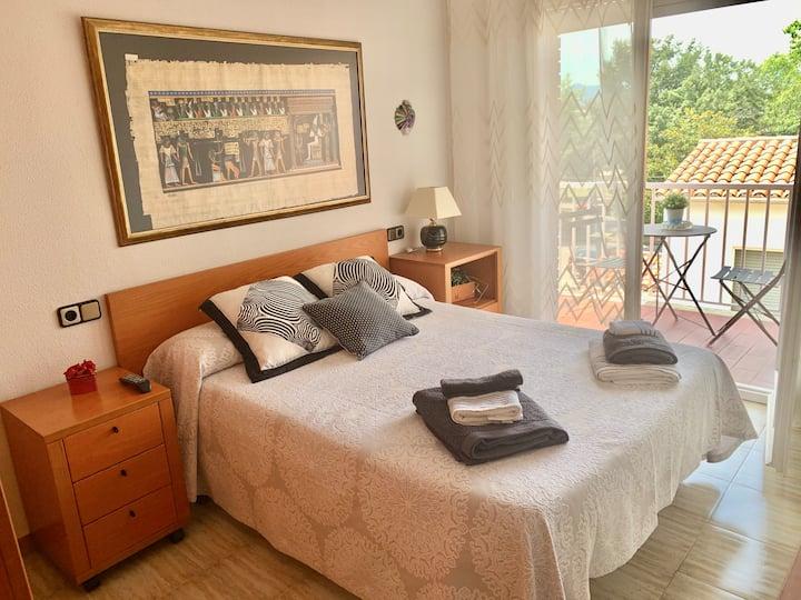 Habitación acogedora en Girona