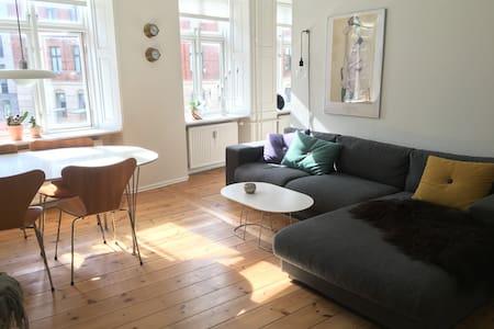 Best location in Nørrebro! Charming apartment. - 코펜하겐(Copenhagen)