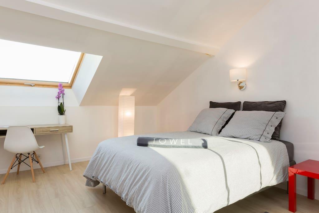 Chambre 19m2 spacieuse 12min de la d fense maisons - Location maison jardin ile de france colombes ...