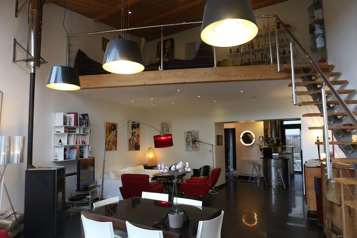 L'Orient 2 Belle maison Esprit Loft - Rennes - Hus