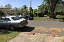 PARKING OUT FRONT OF MY HOME