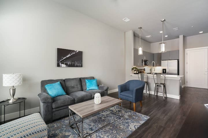 Trendy 1BR Apt in Downtown