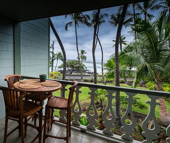 OCEANFRONT AND DOWNTOWN - Kailua-Kona - Apartamento