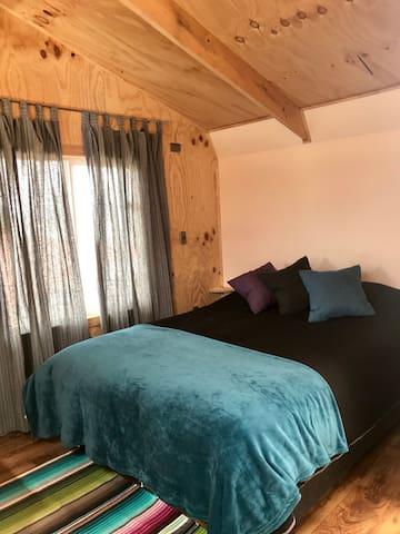 Dormitorio - cama matrimonial