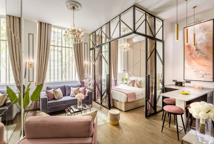 Luxury Apartment with Anti-Covid Cleaning - Marais