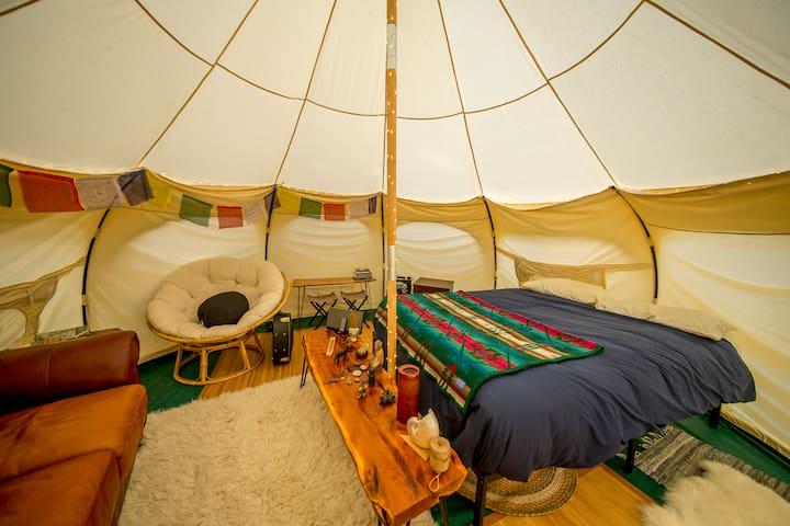 Tres Palmas Yurt