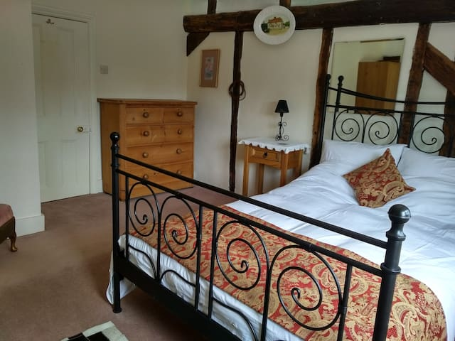 Large double room in 16thC Farmhouse.
