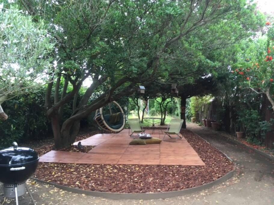 une terrasse zen !