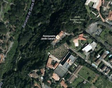 Casa n entorno tranquilo, junto al Jardín Botánico - Las Palmas de Gran Canaria - Almhütte