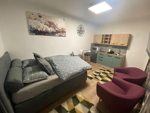 Studio Apartman A1 centar Osijeka, self check in