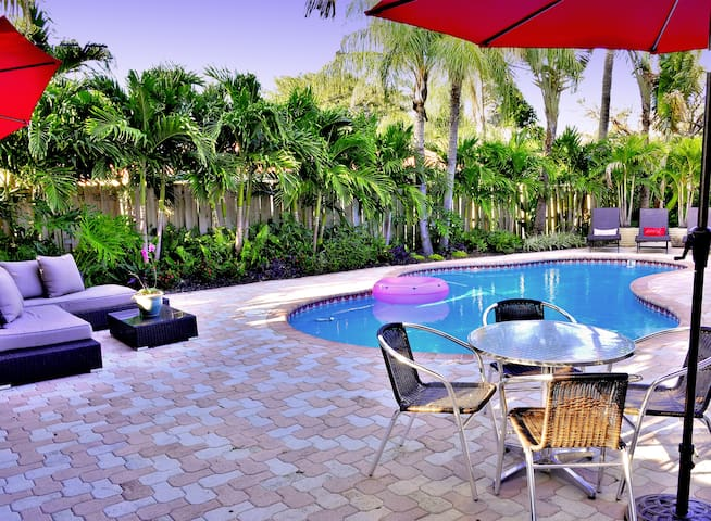Tropical Paradise - Heated Pool - Walk To Beach! - Lauderdale-By-The-Sea - Dom