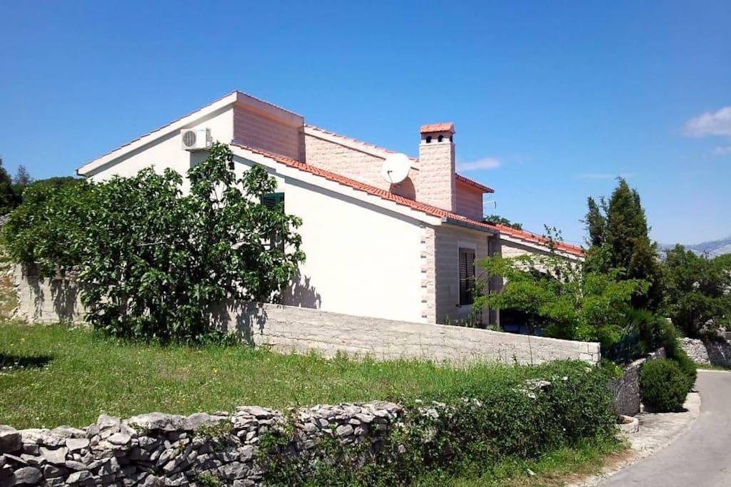 Villa Nika from behind