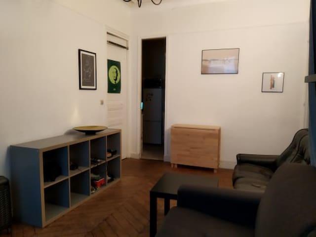 Appartement tout équipé et parfaitement situé