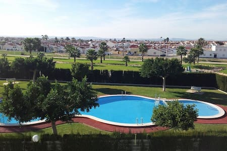 Appartement avec solarium et piscine - Torrevieja