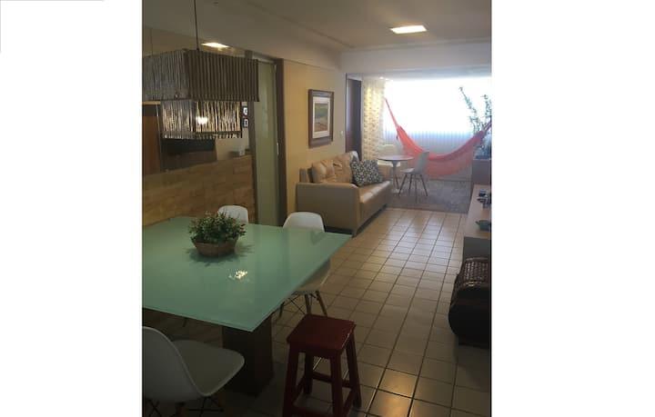 Apartamento na melhor localização de Pirangi