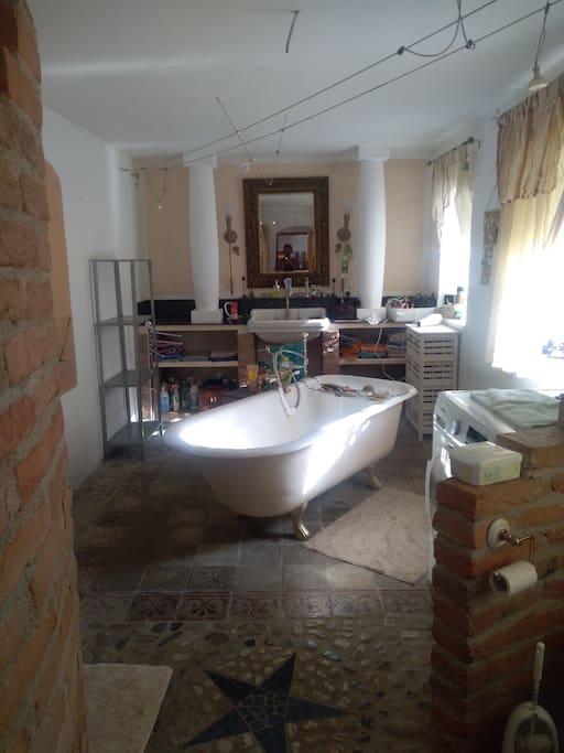 Ein Bad zwischendurch oder eine belebende Dusche?
