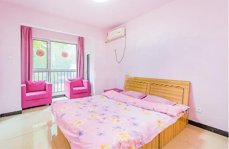 固安县温馨舒适超大床整租房