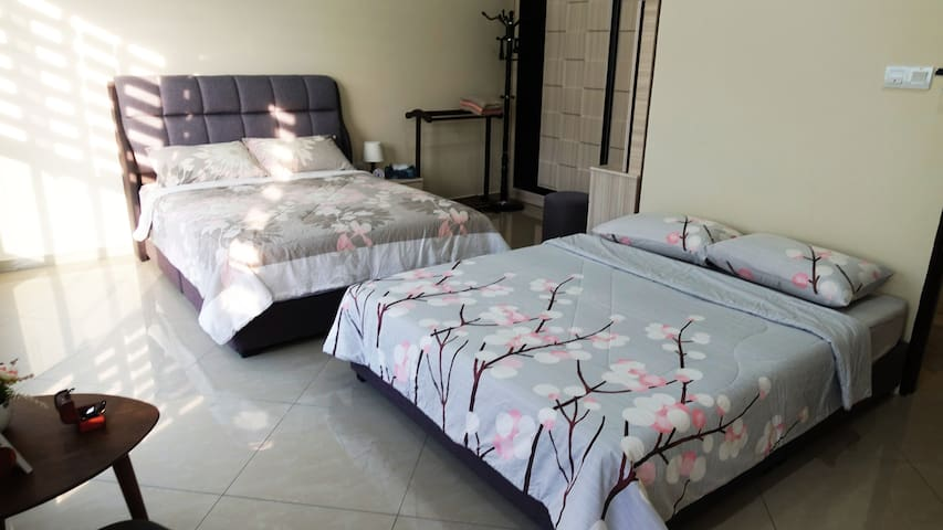 Nooh Guesthouse ~ 2 Double Beds|1 Bathroom (4pax)
