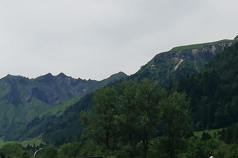 """vue terrasse """"le SANCY"""""""