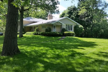 Elegant home off of Sheridan Rd in Winnetka, IL - Winnetka - 獨棟