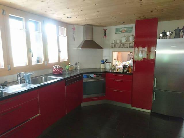 Andi's Room, 1 Bed, Berner Oberland - Frutigen - Haus