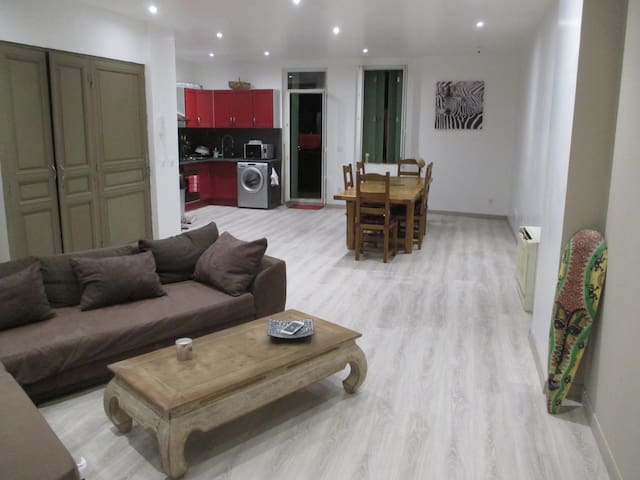 Maison avec chambres climatisées - Le Soler - Casa