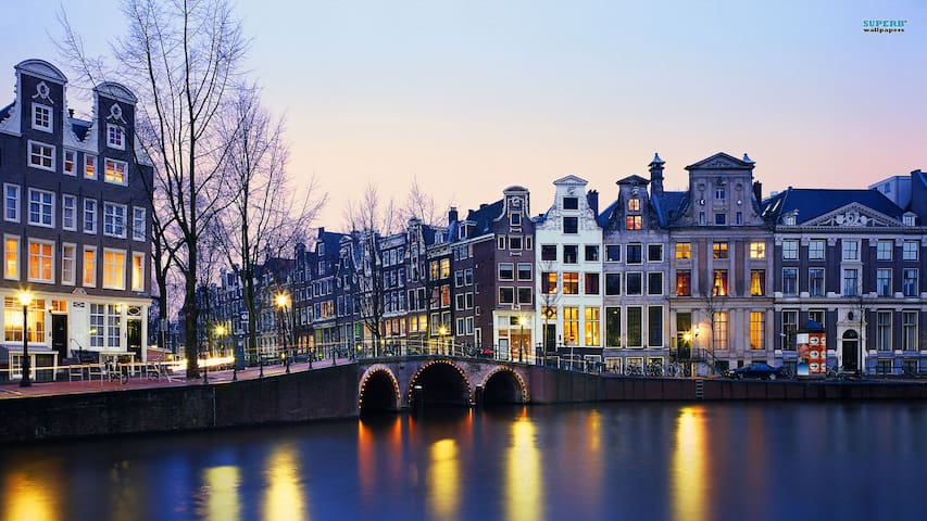 Amazing view on the canals in the Jordaan area - Amsterdam - Appartement