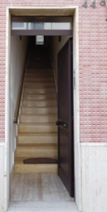 Treppenhaus Aufgang