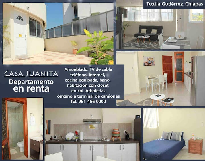 Casa Juanita, el lugar ideal, cerca de todo!