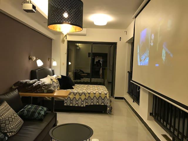 阿Yan的 (Hidden by Airbnb) 生投影精品酒店