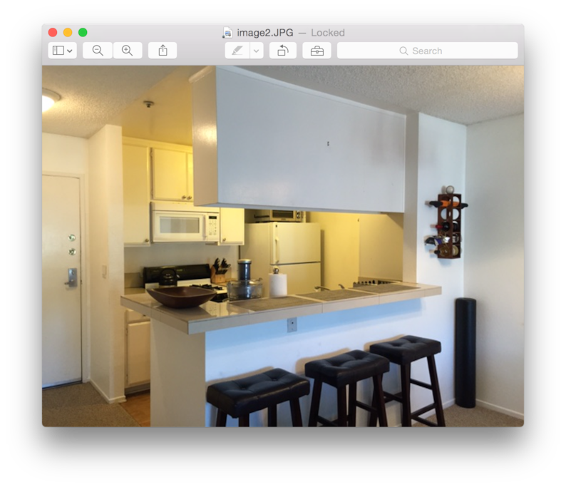 Nice kitchen furnished with everything you need, stainless cookware, cutlery, dishes, the works