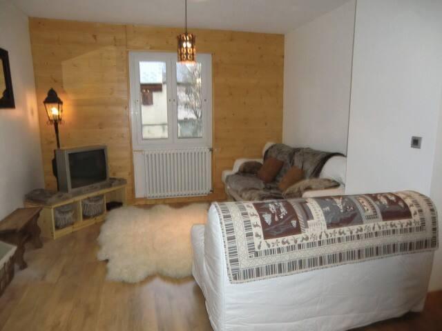 Logement très confortable, style montagne 86m2 - Briançon - Apartment