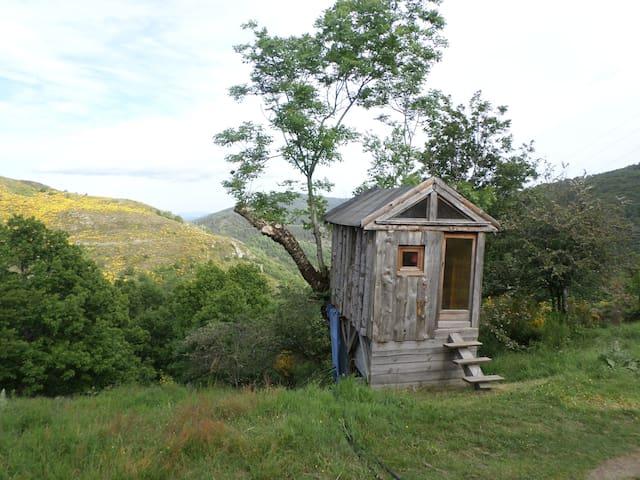 chambre en cabane