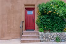 Front Door Entry with Keypad lock