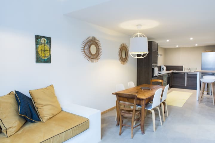 Design apartment with shared garden / Chez MDV