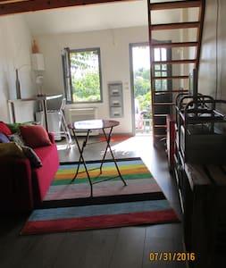 studio indépendant dans village de charme - Rochecorbon