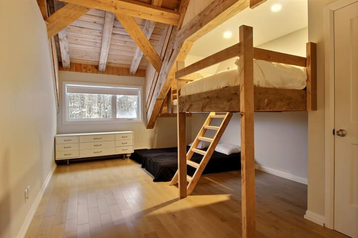 Chambre #3 - 2 lits simples