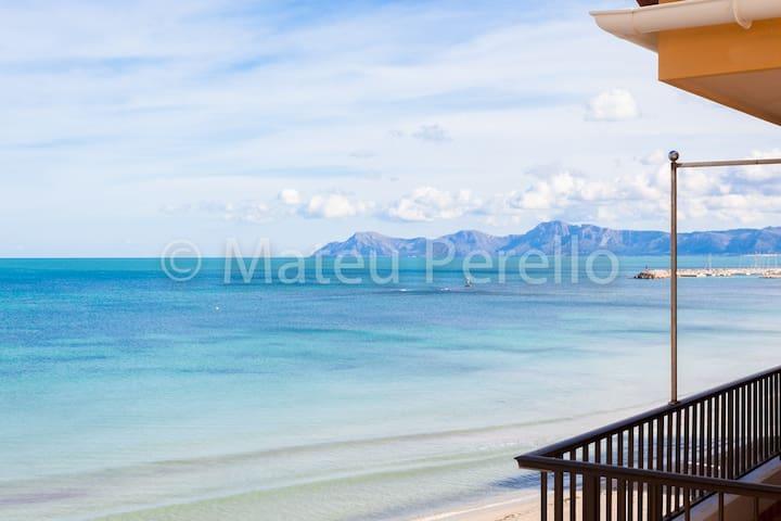 Apartamento delante de la playa B
