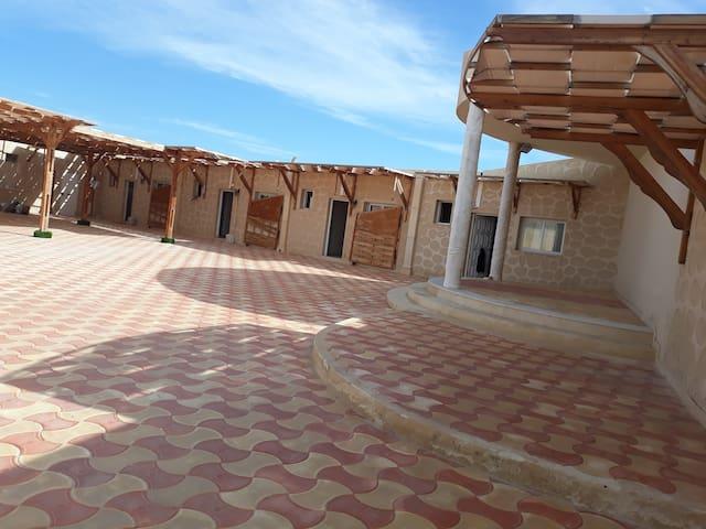 Bungalows cité El  Wafaa.