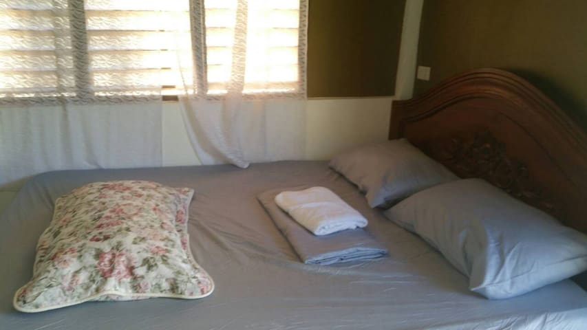 fresh fome bed with fan