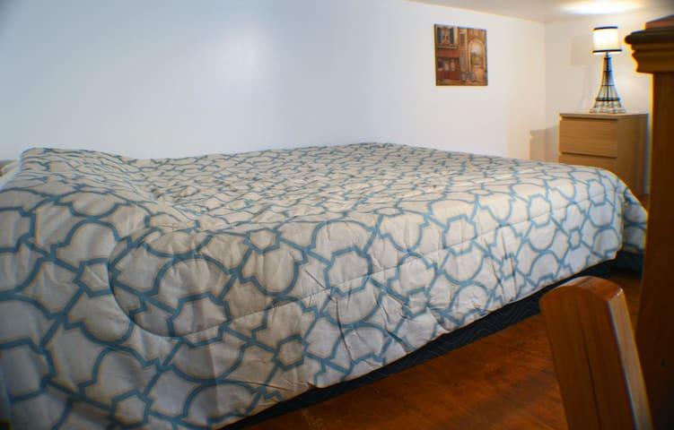Standard Bed for 2 in sleeping Loft.