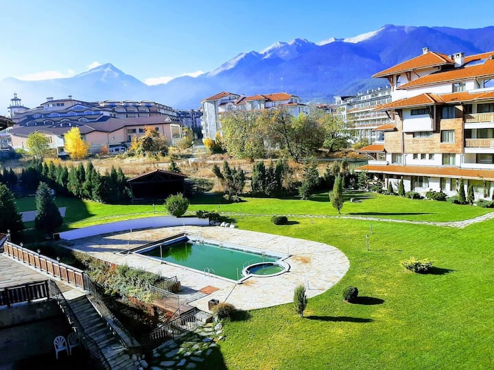 Top location 1bed Apartment in Bansko Royal Towers
