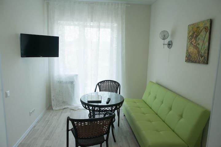 2х Комнатный номер рядом с ДомодедовоТfree shuttle - Domodedovo - Apartemen